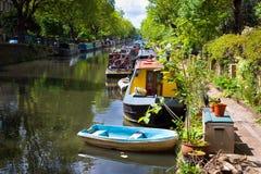 Lilla Venedig, London Arkivfoton