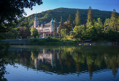 Lillafured pałac - Węgry Obrazy Stock