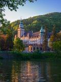 Lillafured palace among beautiful nature Stock Photo