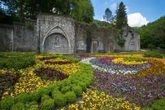 Lillafured palace park Royalty Free Stock Image