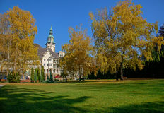 Lillafured palace and park, Hungary Stock Photography