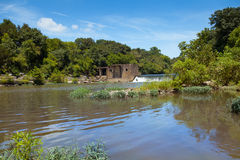 Lillard Mill Dam Stock Image