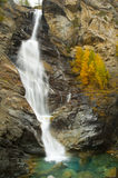 Lillaz Waterfall in autumn Royalty Free Stock Image