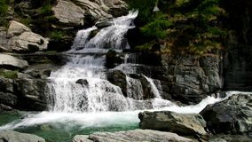 Lillazwaterval stock footage