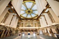 LILLE: Camera di commercio, corridoio di interiror france immagine stock libera da diritti
