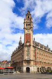 Lille Chamber of Commerce. Chamber of Commerce on the main square in Lille, France stock photography