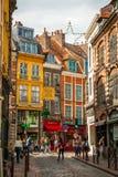 Lille de stad in, Frankrijk Stock Foto