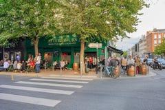 Lille famouse Rue Solferino Arkivbild
