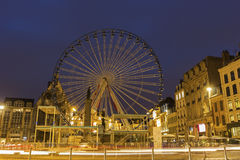 Lille in France during Christmas Stock Photos