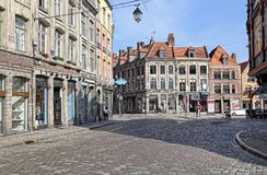 Place Louise de Bettignies in Lille, France Royalty Free Stock Images