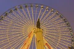 Lille in Francia durante il Natale Fotografia Stock