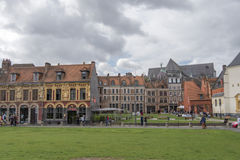 Lille general overview Stock Images