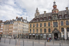 Lille main square Royalty Free Stock Images