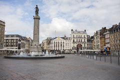 Lille main square Royalty Free Stock Image