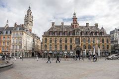 Lille main square Stock Photography