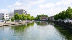 Lille, miasto w Francja Rzeka zbiory