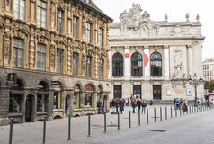 Lille Opera house Royalty Free Stock Images