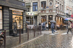 Shopping Street Lyon France Editorial Image Image of landmark