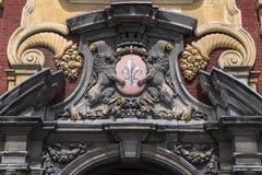 Lille-Wappen Stockbild