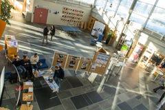 Lillehammer-Universität, Norwegen Stockbild
