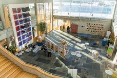 Lillehammer universitet, Norge Royaltyfri Fotografi