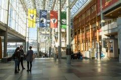 Lillehammeruniversiteit, Noorwegen royalty-vrije stock afbeeldingen