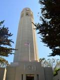 Lillian Coit Memorial Tower imágenes de archivo libres de regalías