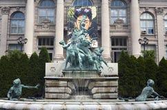 Lillian Goldman fountain of life Royalty Free Stock Photo
