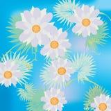 Lillies da água ilustração stock