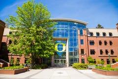 Lillis szkoła biznes przy uniwersytetem Oregon Fotografia Stock
