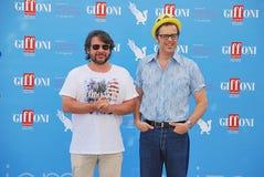 Lillo & Greg al Giffoni Film Festival 2015 Arkivfoto