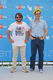 Lillo & Greg al Giffoni Film Festival 2015 Fotografering för Bildbyråer