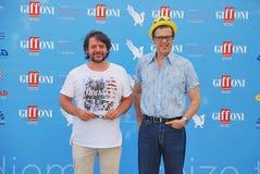 Lillo & Greg al Giffoni Film Festival 2015 Arkivbilder