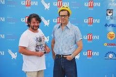 Lillo & Greg al Giffoni Film Festival 2015 Royaltyfria Foton