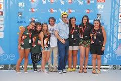 Lillo & Greg al Giffoni Film Festival 2015 royalty-vrije stock afbeelding