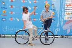 Lillo & Greg al Giffoni Film Festival 2015 Royaltyfri Foto