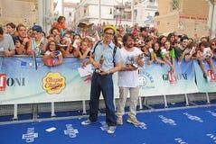 Lillo & Greg al Giffoni Film Festival 2015 Royaltyfria Bilder