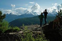 Lillooet Highway 99, British Columbia Canada Royalty Free Stock Photography