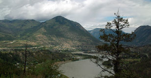 Lillooet, British Columbia Canada Royalty Free Stock Images