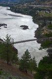 Lillooet och Fraser River, British Columbia, Kanada 3 Royaltyfri Bild