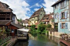 Lillte Venise in Colmar Royalty-vrije Stock Foto