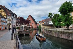 Lillte Venise in Colmar Royalty Free Stock Image
