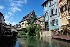 Lillte Venise em Colmar Foto de Stock Royalty Free