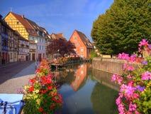 Lillte Venise em Colmar Fotografia de Stock