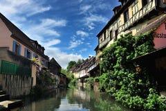 Lillte Venise en Colmar Foto de archivo