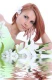 lilly χαλαρώστε το ύδωρ Στοκ φωτογραφία με δικαίωμα ελεύθερης χρήσης