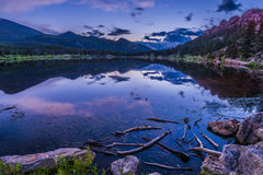 Lilly Lake at Sunset - Colorado Royalty Free Stock Images