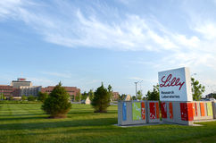Lilly Research Laboratories, Indianapolis Royalty Free Stock Photography