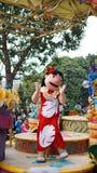 Lilo σε μια παρέλαση σε Disneyland Στοκ Εικόνες