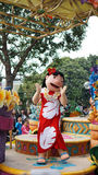 Lilo on a Parade in Disneyland Stock Images